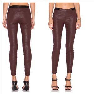 Blank NYC vegan leather leggings, size 28